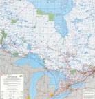 Ontario Region Canada Topo Map Index