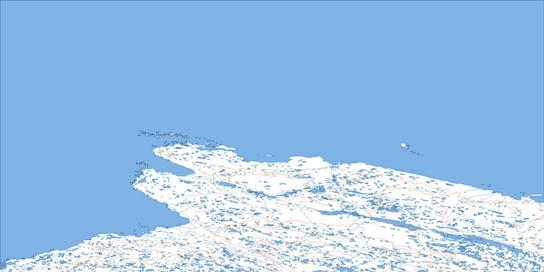 Cape Dorchester Topo Map 036F at 1:250,000 Scale