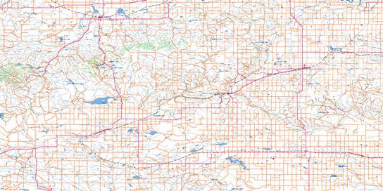 Cypress Lake Topo Map 072F at 1:250,000 Scale