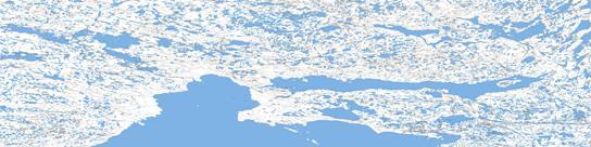 Cambridge Bay Topo Map 077D at 1:250,000 Scale
