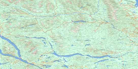 Manson River Topo Map 093N at 1:250,000 Scale