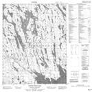 046L10 North Pole Lake Topographic Map Thumbnail