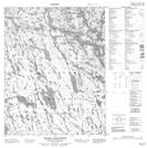 046L15 Wilson Lake North Topographic Map Thumbnail