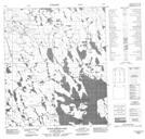 066A05 Judge Sissons Lake Topographic Map Thumbnail