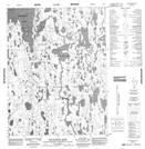 066O01 Mcnaughton River Topographic Map Thumbnail