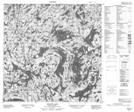 074P14 Seguin Lake Topographic Map Thumbnail
