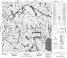 075D06 Methleka Lake Topographic Map Thumbnail