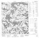 076C13 Hardy Lake Topographic Map Thumbnail