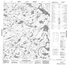 076E12 Concession Lake Topographic Map Thumbnail