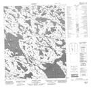 076F03 Ghurka Lake Topographic Map Thumbnail