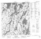 086B03 Ranji Lake Topographic Map Thumbnail