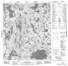 086F09 Bishop Lake Topographic Map Thumbnail