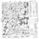 086G11 Scotstoun Lake Topographic Map Thumbnail