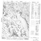 096N03 Tatchini Lake Topographic Map Thumbnail