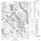 106N04 Ramey Lake Topographic Map Thumbnail