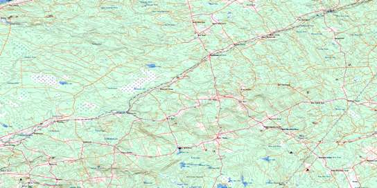 Kennetcook Topo Map 011E04 at 1:50,000 scale - National Topographic System of Canada (NTS) - Toporama map
