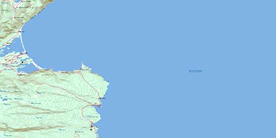 Dingwall Topo Map 011K16 at 1:50,000 scale - National Topographic System of Canada (NTS) - Toporama map