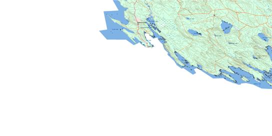 Forest City Topo Map 021G12 at 1:50,000 scale - National Topographic System of Canada (NTS) - Toporama map