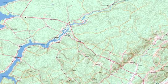 Codys Topo Map 021H13 at 1:50,000 scale - National Topographic System of Canada (NTS) - Toporama map