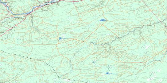 Boiestown Topo Map 021J08 at 1:50,000 scale - National Topographic System of Canada (NTS) - Toporama map