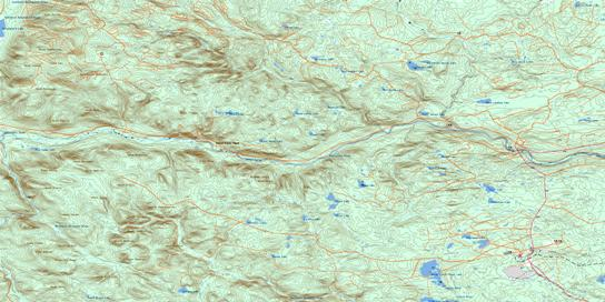 California Lake Topo Map 021O08 at 1:50,000 scale - National Topographic System of Canada (NTS) - Toporama map