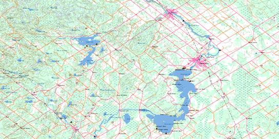 Carleton Place Topo Map 031F01 at 1:50,000 scale - National Topographic System of Canada (NTS) - Toporama map