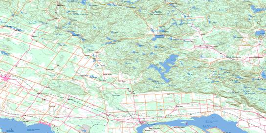 Quyon Topo Map 031F09 at 1:50,000 scale - National Topographic System of Canada (NTS) - Toporama map
