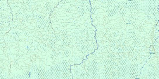 Hoelke Creek Topo Map 032L12 at 1:50,000 scale - National Topographic System of Canada (NTS) - Toporama map