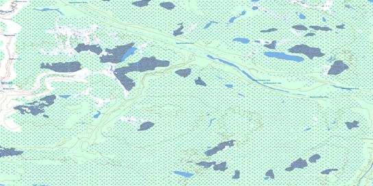 No Title Topo Map 053O05 at 1:50,000 scale - National Topographic System of Canada (NTS) - Toporama map
