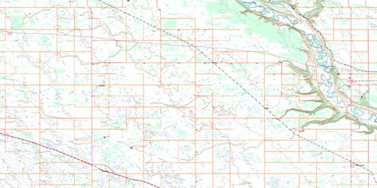 Miniota Topo Map 062K03 at 1:50,000 scale - National Topographic System of Canada (NTS) - Toporama map