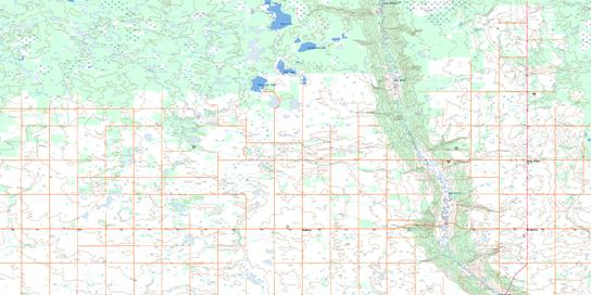 Swan Plain Topo Map 063D01 at 1:50,000 scale - National Topographic System of Canada (NTS) - Toporama map