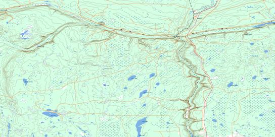 Reserve Topo Map 063D07 at 1:50,000 scale - National Topographic System of Canada (NTS) - Toporama map