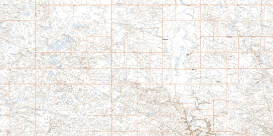 Cappon Topo Map 072M02 at 1:50,000 scale - National Topographic System of Canada (NTS) - Toporama map