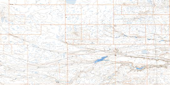Sedalia Topo Map 072M10 at 1:50,000 scale - National Topographic System of Canada (NTS) - Toporama map