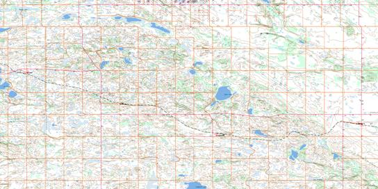Clandonald Topo Map 073E10 at 1:50,000 scale - National Topographic System of Canada (NTS) - Toporama map