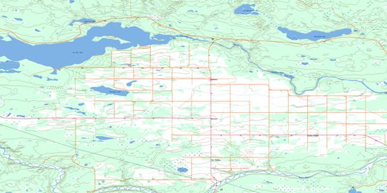 Goodsoil Topo Map 073K06 at 1:50,000 scale - National Topographic System of Canada (NTS) - Toporama map