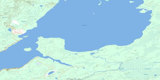 Primrose Lake Topo Map 073K13 at 1:50,000 scale - National Topographic System of Canada (NTS) - Toporama map