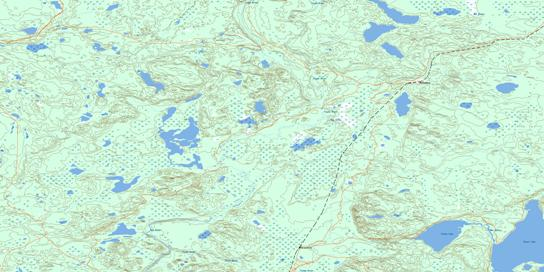 Philomena Topographic map 073M04 at 1:50,000 Scale