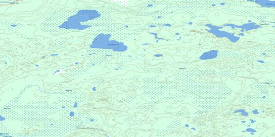 Watchusk Lake Topo Map 074D01 at 1:50,000 scale - National Topographic System of Canada (NTS) - Toporama map