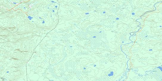 Quigley Topo Map 074D02 at 1:50,000 scale - National Topographic System of Canada (NTS) - Toporama map