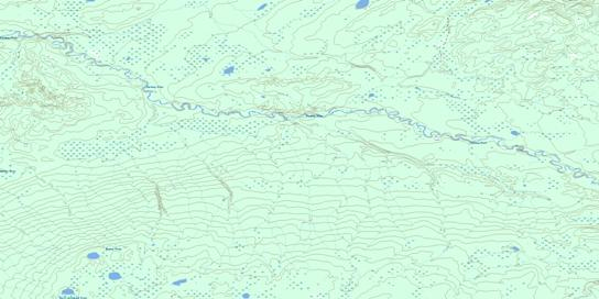 No Title Topo Map 074E07 at 1:50,000 scale - National Topographic System of Canada (NTS) - Toporama map