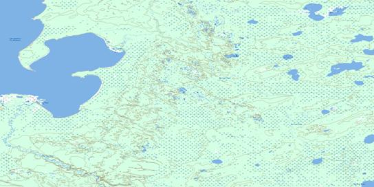 Old Fort Bay Topo Map 074L09 at 1:50,000 scale - National Topographic System of Canada (NTS) - Toporama map