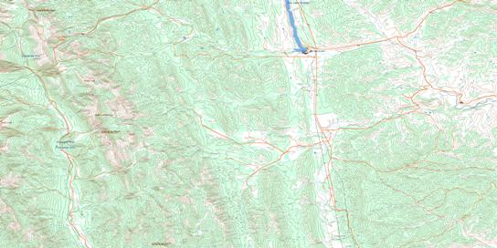 Langford Creek Topo Map 082J01 at 1:50,000 scale - National Topographic System of Canada (NTS) - Toporama map
