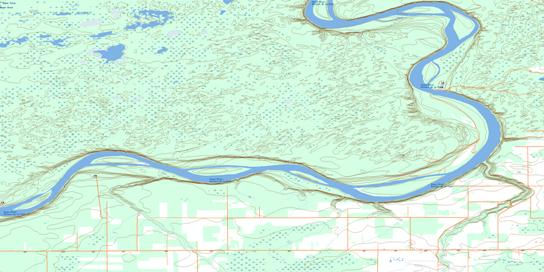 Moose Island Topo Map 084K02 at 1:50,000 scale - National Topographic System of Canada (NTS) - Toporama map