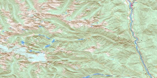 Lytton Topo Map 092I04 at 1:50,000 scale - National Topographic System of Canada (NTS) - Toporama map