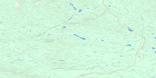 Sylvester Creek Topo Map 093N08 at 1:50,000 scale - National Topographic System of Canada (NTS) - Toporama map