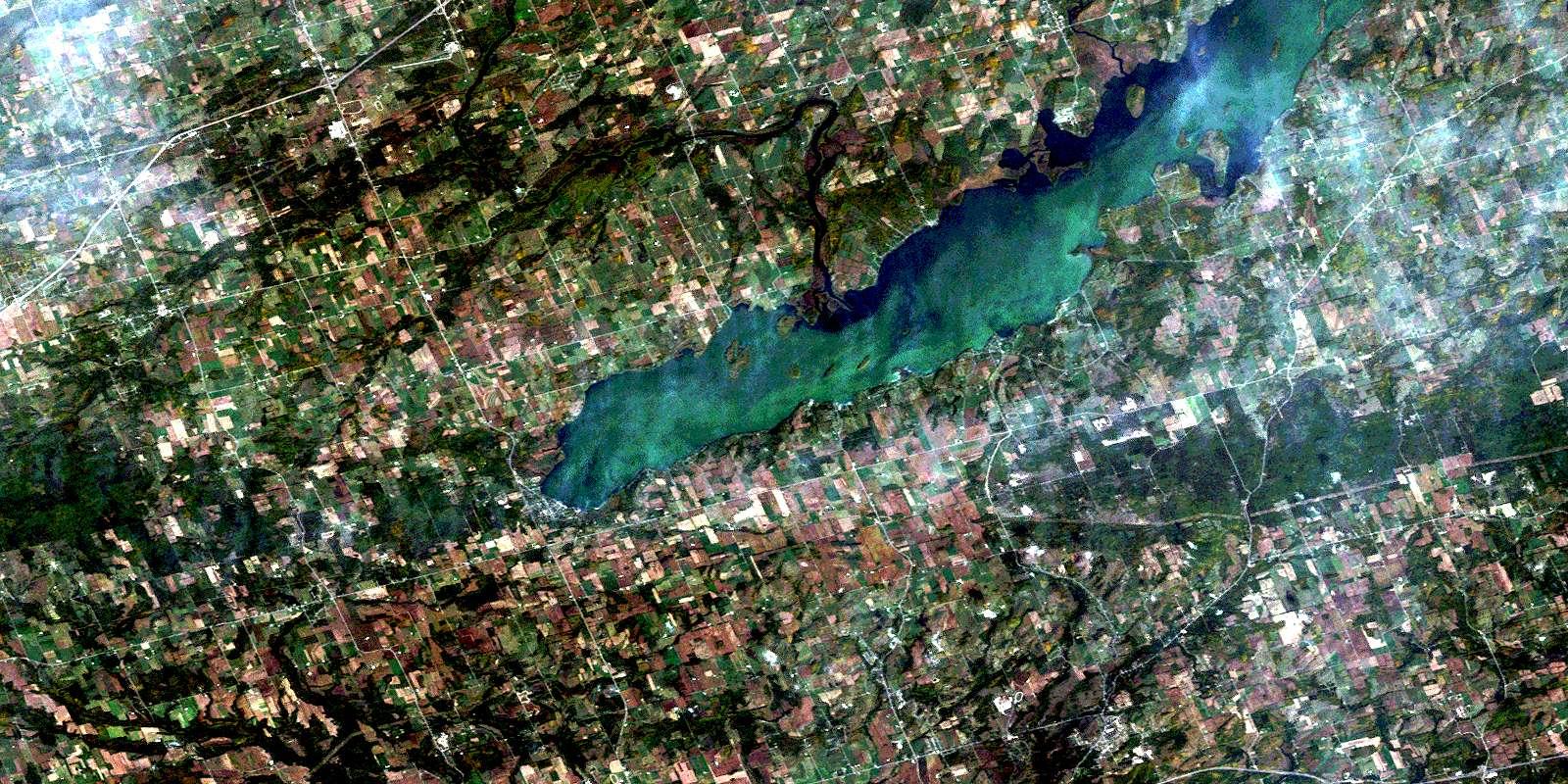 031d01 rice lake high resolution satellite image map