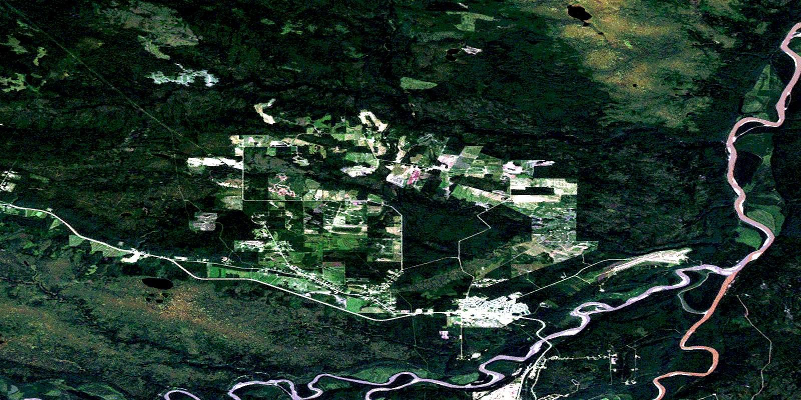 094j15 fort nelson high resolution satellite image map