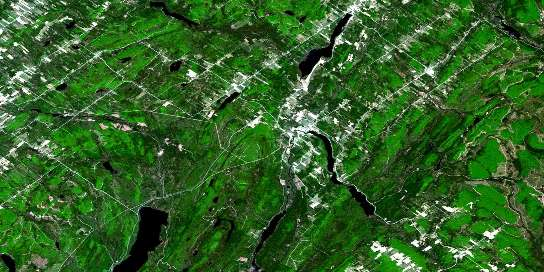 Squatec Satellite Map 021N15 at 1:50,000 scale - National Topographic System of Canada (NTS) - Orthophoto