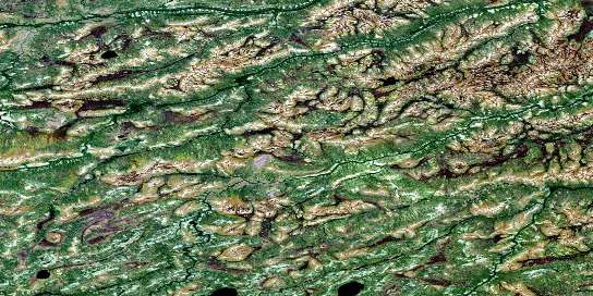 No Title Satellite Map 053J16 at 1:50,000 scale - National Topographic System of Canada (NTS) - Orthophoto